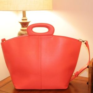 Large Faux Leather Tote MALIBU SKYE
